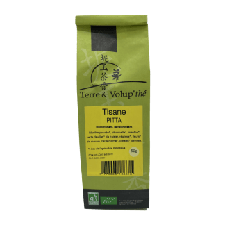 Tisane Pitta bio Terre & Volup'thé