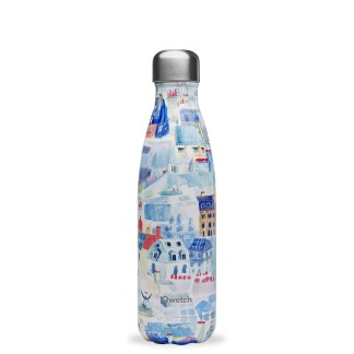 Bouteille isotherme Toits de Paris Qwetch 500ml