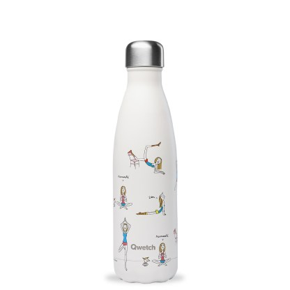 Bouteille isotherme Yoga by Soledad Qwetch 500ml