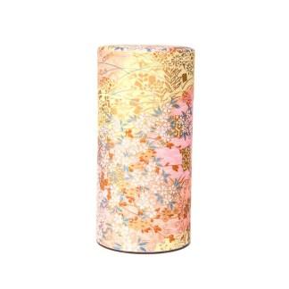 Boîte à thé Fleur d'or rose 150g