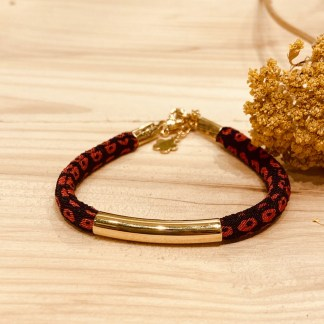 Bracelet japonais en tissu de Kimono N°09 Atelier Vivienne