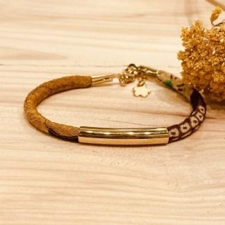 Bracelet japonais en tissu de Kimono N°13 Atelier Vivienne