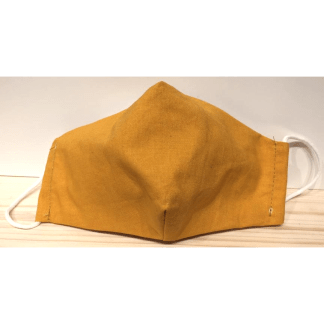 Masque pour enfant jaune