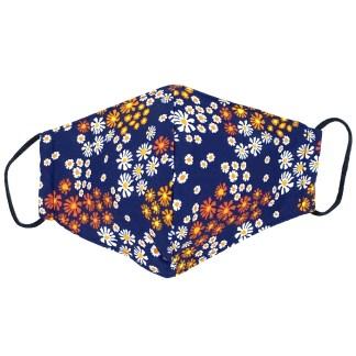 Masque en tissu Fleurs N°02