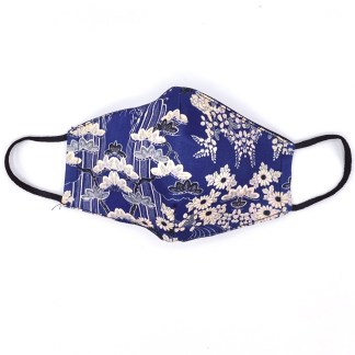 Masque en tissu Fleurs du Japon N°04