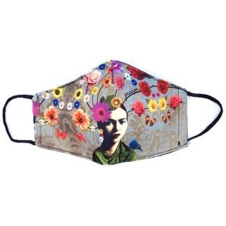 Masque en tissu Frida Kahlo N°02