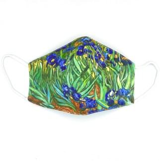 Masque en tissu Iris de van Gogh