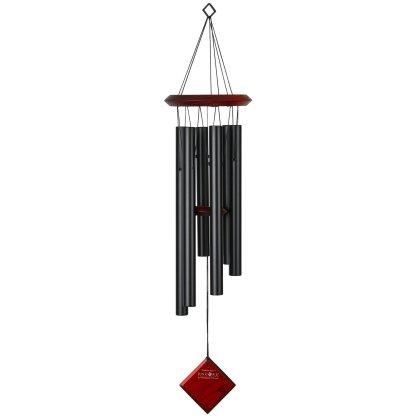Carillon à vent Pluton noir bubinga Woodstock Chimes