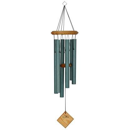 Carillon à vent Pluton vert-de-gris bubinga Woodstock Chimes
