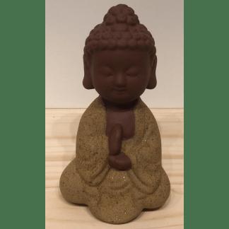 Statuette Guanyin brun