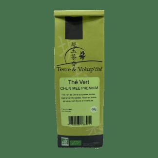 Thé vert Chun Mee Premium bio Terre & Volup'thé