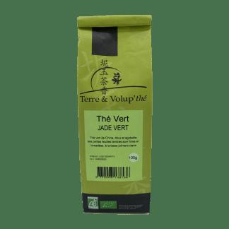 Thé vert Jade vert bio Terre & Volup'thé