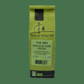 Thé vert Sencha de Chine spécial bio Terre & Volup'thé