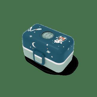 Boîte à bento pour enfant MB Tresor bleu Cosmic Monbento
