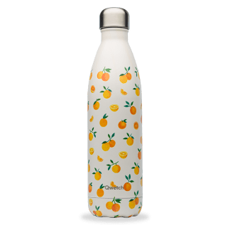 Bouteille isotherme Orange 750ml Qwetch