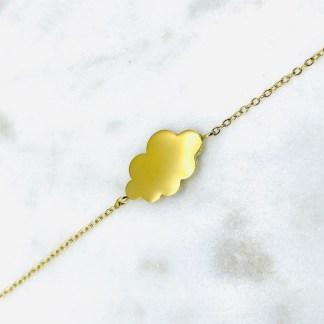 Bracelet Nuage doré 7bis