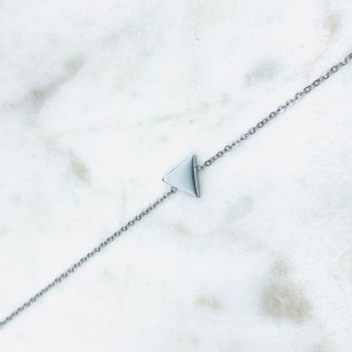 Bracelet Triangle argenté 7bis