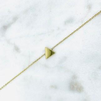 Bracelet Triangle doré 7bis