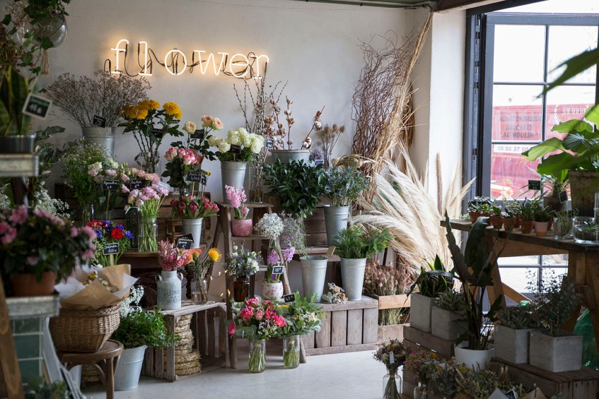 boutique marguerite flower shop