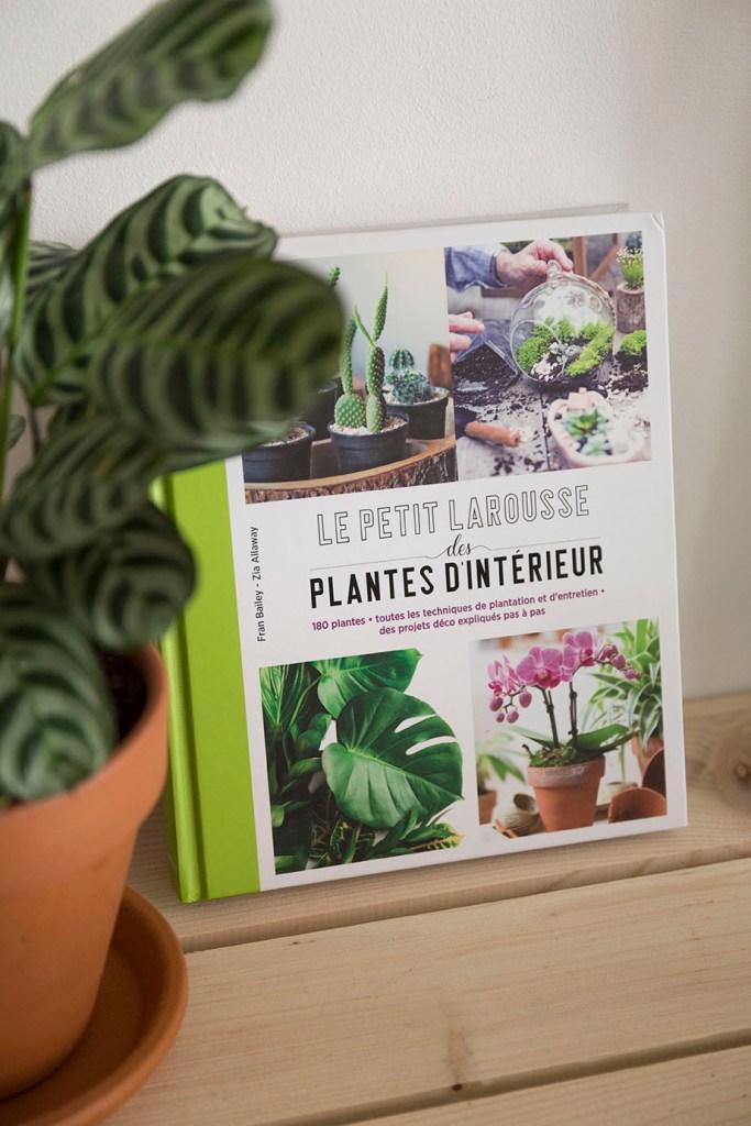 selection livres plante