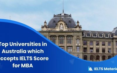 Top 20 Universities in Australia which accepts IELTS Score for MBA
