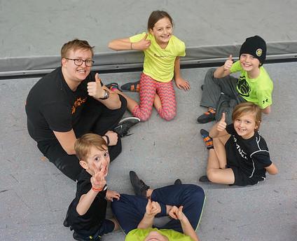 VATC Coach Henry and Happy Kids
