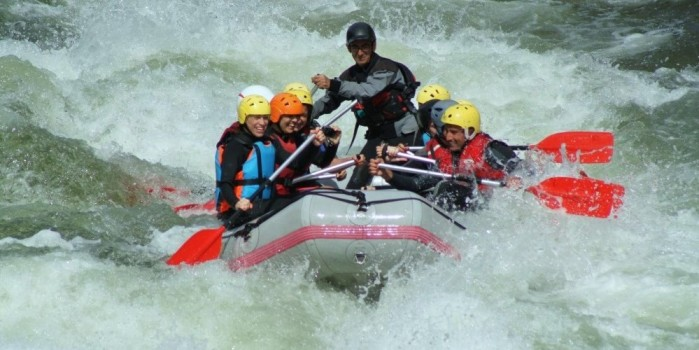 Rafting no Tamega