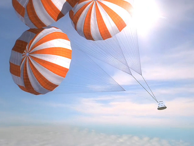 Would A Parachute  Work at 120,000 feet? What about Inversion?