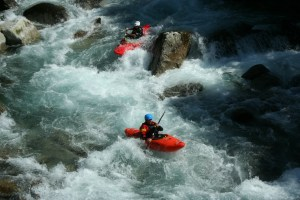 kayak gave de Cauterets