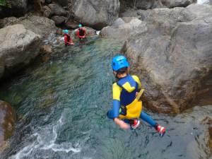 saut canyon d'Héas