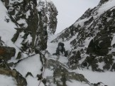 John high on Mt Able climbing on great alpine ice