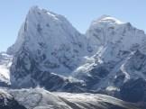 The SW ridge of Cholaste
