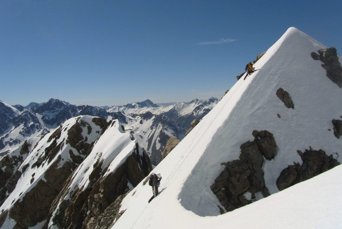 Guided Mountaineering