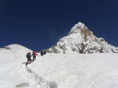Yak Camp to Camp 1 - a bit of a slog