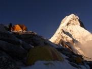 Evening light - camp 1