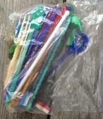 Swizzle sticks. TRASH.