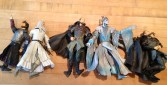 I tried to get rid of these before. I'm trying again. Lord of the Rings action figures. $20 for all of them.