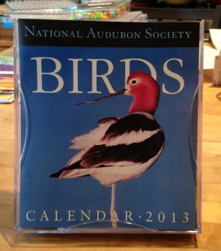 These page a day calendars are entice but never get used. DONATE to art teacher.