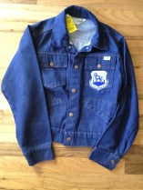 Ditto this vintage denim for the boys. They are practical and love to move too much to wear a jean jacket. eBay.