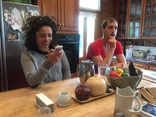 Nadia and David