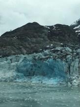 Lamplaugh Glacier's mineral blue