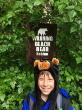 The only bear we saw