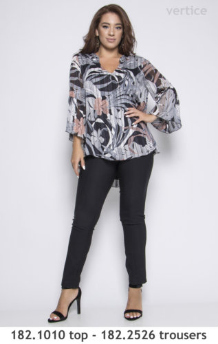 plus size trouser with top