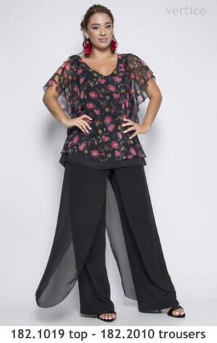 top and trouser plus size