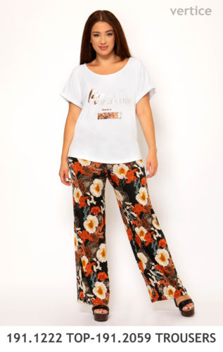 191.1222 TOP-191.2059 TROUSERS