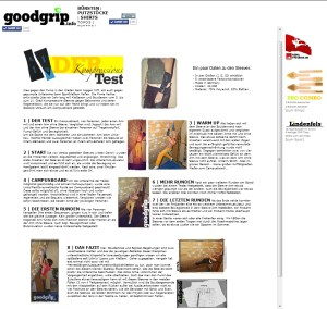 Der Kompressionstest by goodgrip.info
