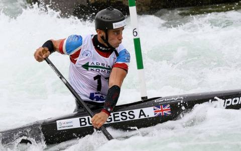 Adam Burgess British Canoe Slalom