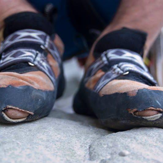 Kletterschuhe Löcher VERTICS.Shoepatch