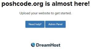 poshcode.org is almost here! Upload your website to get started.