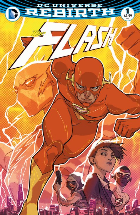 This is The Flash #1, the second one to read.